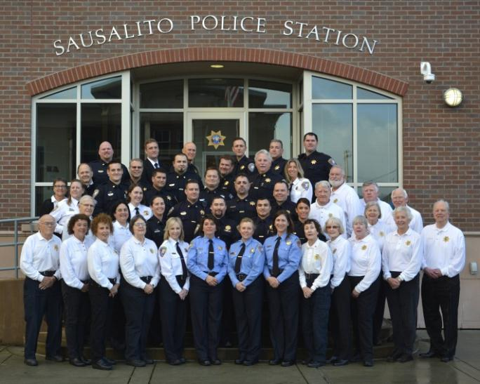 Sausalito Police Department Staff - 2016
