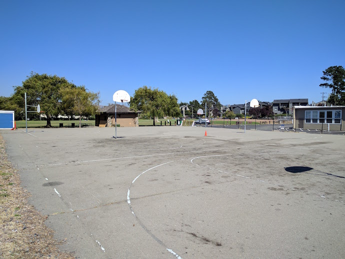 MLK Basketball Courts