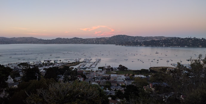 evening in Sausalito
