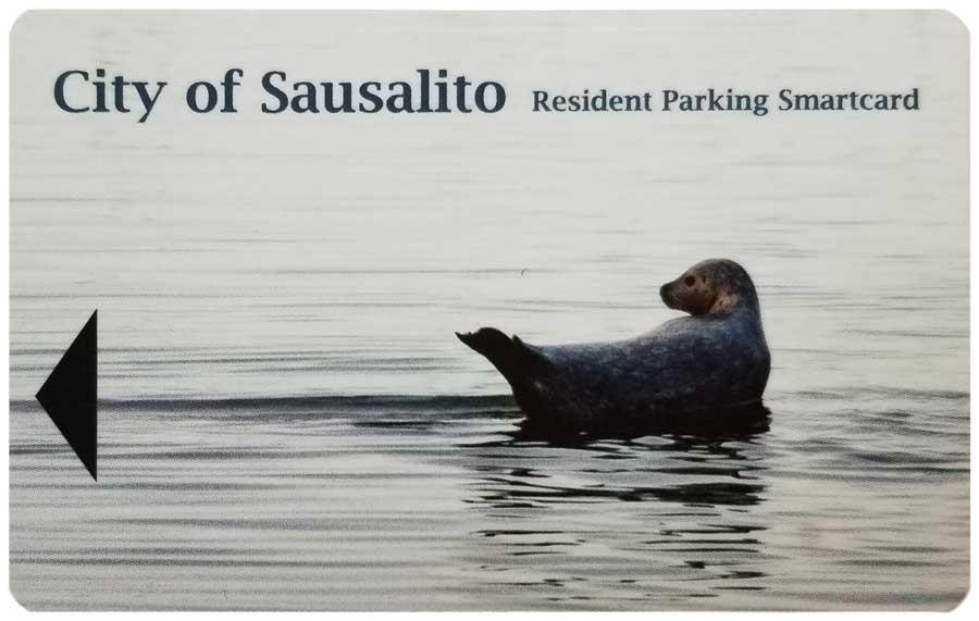 Sausalito Resident Parking Passcard
