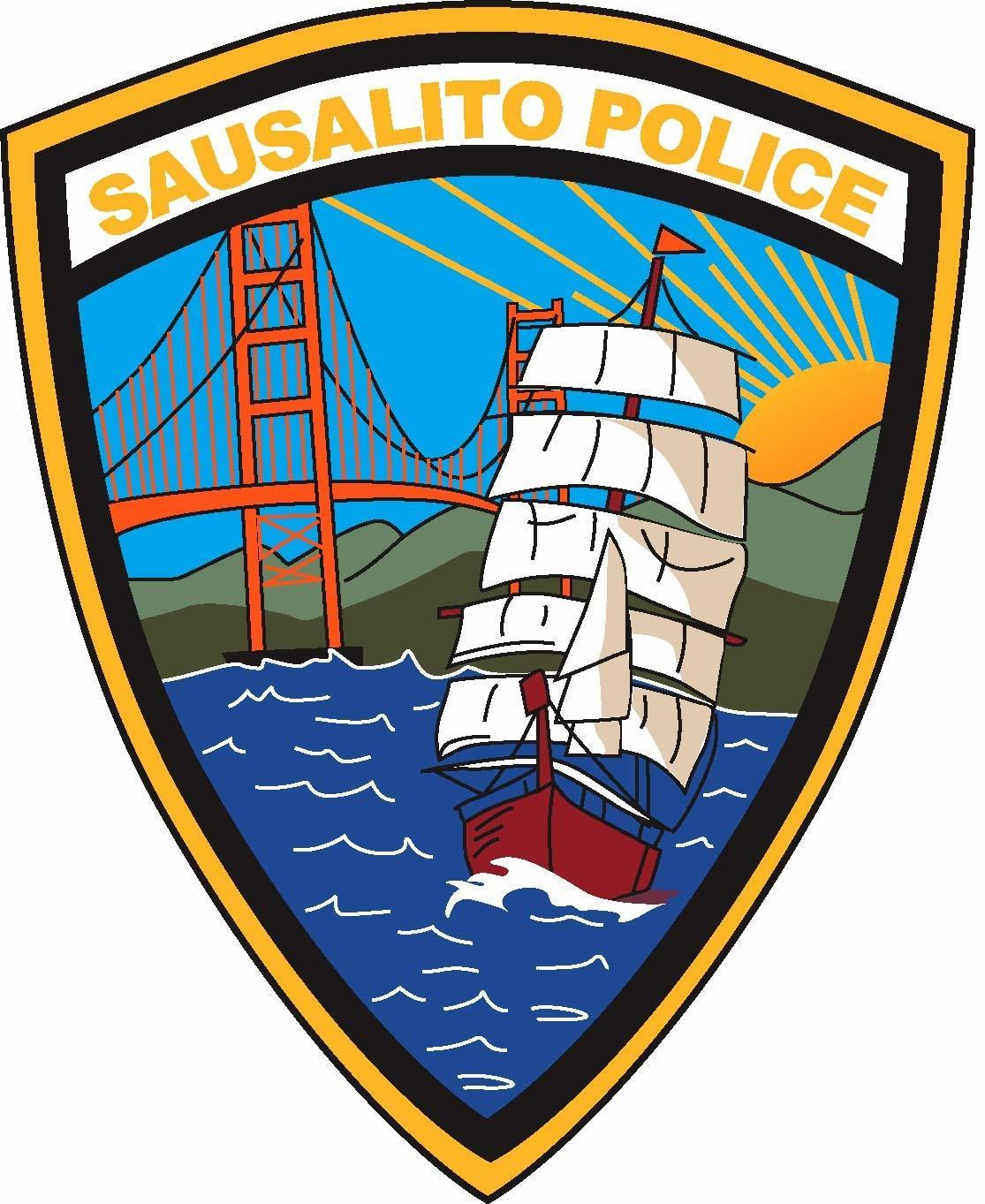 Sausalito Police Patch