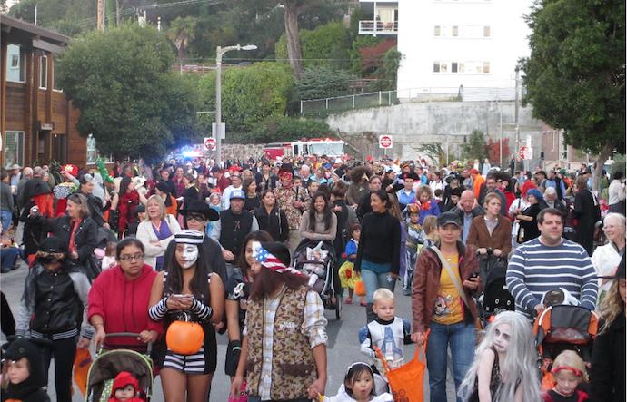 Halloween Sausalito City Of Sausalito