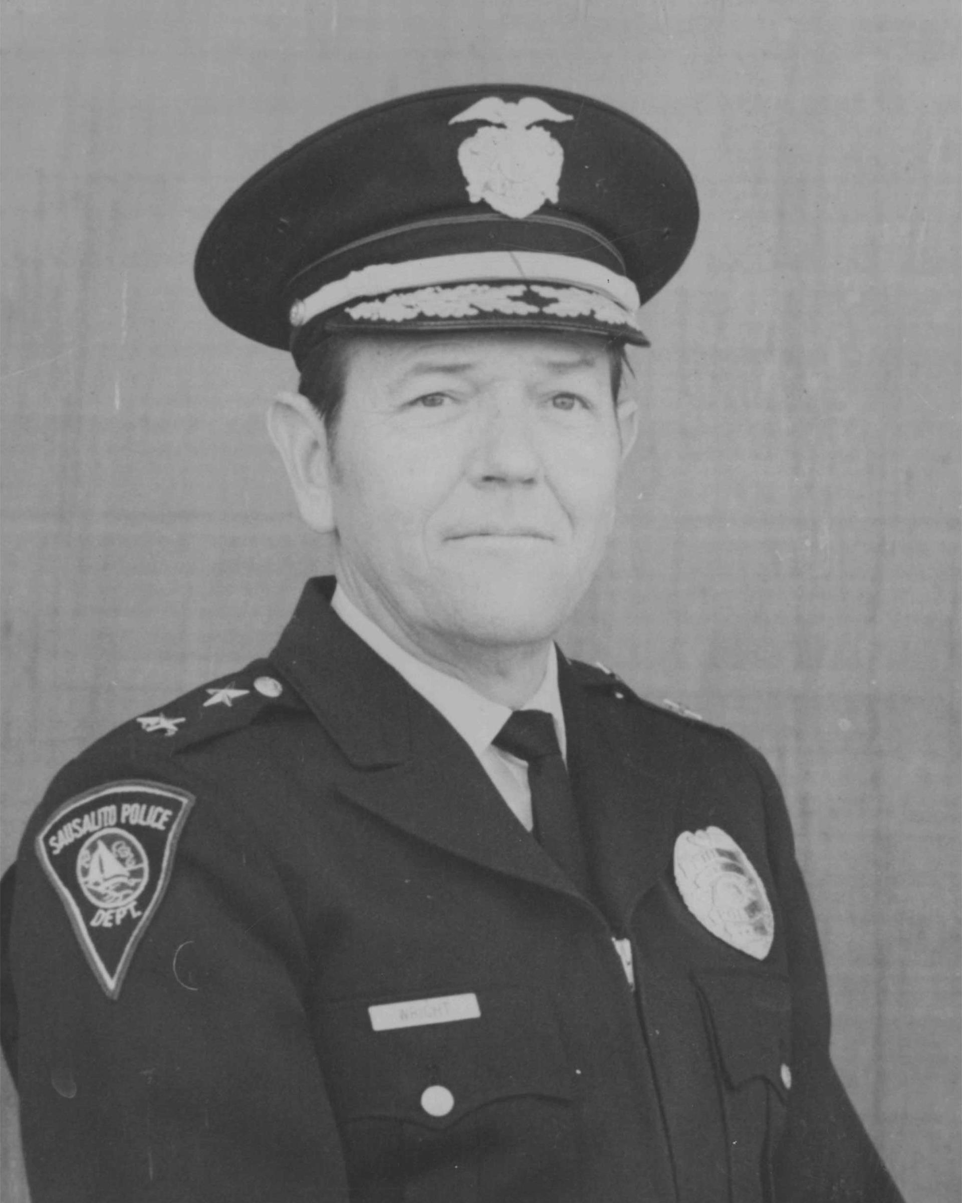 Chief James D. Wright (1969-1981)